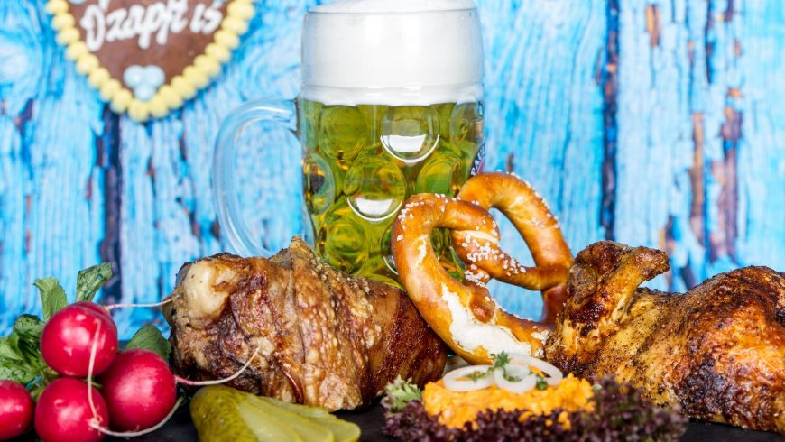 Oktoberfest Buffet –  O`zapft is !